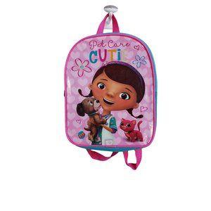 NWT Doc McStuffins Kids Backpack -Pet Care Cutie-